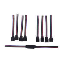 4Pin Rgb Connecteurs Câble Métallique Pour 3528 5050 Smd Led Strip Lights JE