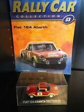 IXO 1/43 Rally Car - FIAT 124 ABARTH - 1974 Rally de Portugal - R.Pinto