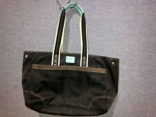Coach Black Nylon XL Tote Book Bag Weekend Travel Carryon Purse F11994 MSRP $275