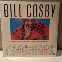 "BILL COSBY - With Or Without Children, You'll.... - 12"" Vinyl Record LP - SEALED"