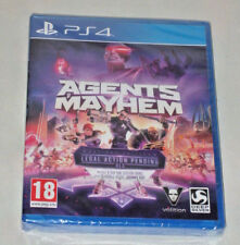Sony playstation JEU PS4 Agents of Mayhem Day One Edition action juridique pend DLC