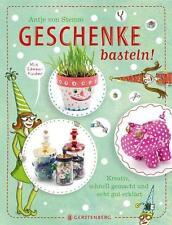 Deutsche Bücher über Basteln & Dekoration mit Geschenke-Thema