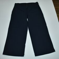LuluLemon Relaxed Fit Crop II Fitness Yoga Pants Size 8 Navy Style #W6349S