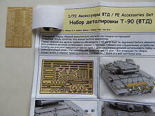 1/72 photo-etched T-34,IS-2,ISU-152,T-72/90,TOS-1,GAZ-AA,BM-21,URAL-4320,ZIL-131