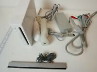 Nintendo Wii Gaming Console Complete with Remote Gamecube Compatible RVL-001 USA