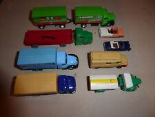 8 Modellautos 1:87, 6 LKW, 2 PKW