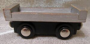 Unbranded Wooden Magnetic Railroad Flat Car