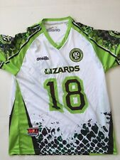 New York Lizards Lacrosse Jack Tigh #18 Jersey Size Medium O'Neils