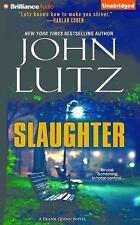 Frank Quinn: Slaughter 10 by John Lutz (2016, CD, Unabridged)