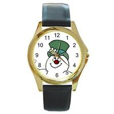 FROSTY THE SNOWMAN CHRISTMAS GOLD-TONE WATCH 8 OTHER STYLES SPORTS CHARM