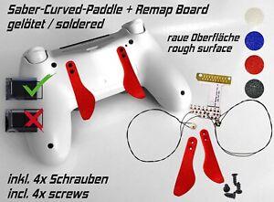 Remap Board Easy PS4 PLAYSTATION Controller Remapper Soldered Saber-Curved