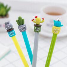 4X Office School Supplies Cute Cactus Design Gel Pen Ballpoint Writing Pen Gift