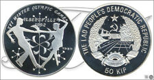 Laos - Monnaies commémorative- Année: 1989 - numéro KM00035.2 - Certifié 50 Kip