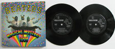 "THE BEATLES - MAGICAL MYSTERY TOUR - OZ 2 X 7"" EP RECORDS - BOOK LYRIC SHEET '67"