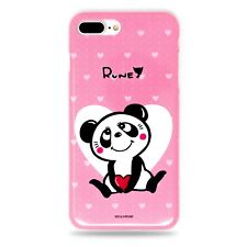Made in Japan Cute Panda Snap Case Pink for iPhone 7 Plus / iPhone 8 Plus