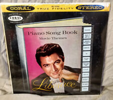 Liberace Sealed LP Piano Song Book Movie Themes Coral 757292