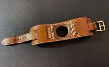 Apple Watch Hermès Cuff 42 / 44mm Fauve Barenia Armband - MMMX2ZM/A - vergoldet!