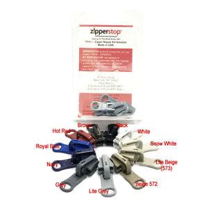 3 Pulls YKK Kit #5 Molded Reversible Fancy Pulls Vislon slider