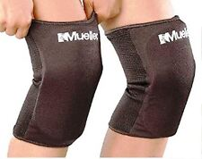Mueller USA MUE45350 Knee Sleeves Support Pads Pair Black