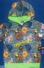 Angry Birds Star Wars Hoodie XS S M L XL Sweatshirt Jacket Child 4 5 6 7 8 10 12