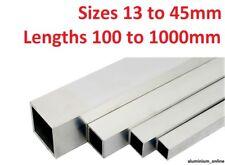 Aluminium Rectangular Tube Box Section Length 2000 mm 2500 mm 5000 mm