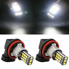 2Pcs High Power H11 Fog Light White LED 2835 21SMD Driving Lamp Bulb 12V 24V