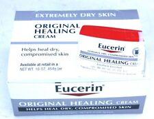 New 16 pcs Eucerin Original Healing Cream .17 oz 5 g Sample Size