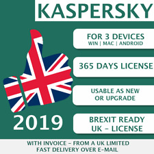 Kaspersky Internet Security 2019 UK [3 PC, 3 Devices - KEY - ESD]