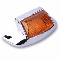 Amber Front Fender Tip Light For Harley FLHTCU Ultra Classic FLSTC FLHT Electra