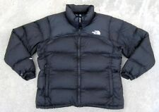 The North Face Nuptse 700 Fill Goose Down Puffer Jacket Women's L Black