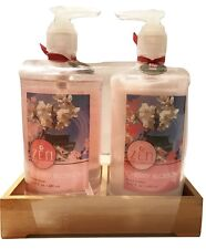 Zen Body Collection Cherry Blossom Hand Care Set, Lotion, Hand Wash, Large