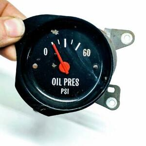 1973-1978 Chevrolet GMC Sierra K5 Blazer C10 K10 Square Body Oil Pressure Gauge