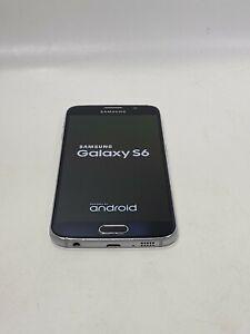 Samsung Galaxy S6, 32 GB - Black (Unlocked), Fair Condition -K193