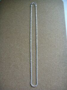 """new 925 silver 20"""" weave chain."""
