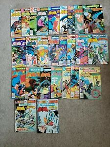 BRAVE AND THE BOLD reader lot of 26 DC Comics range 123-180 Bronze/Copper