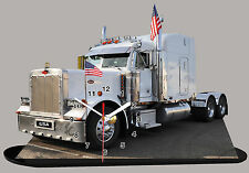 PETERBILT MODEL CARS, TRUCK TUNING  -04  with Clock
