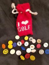 Golf Ball Spot Marker 25 in bag