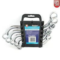 BlueSpot 04104 5pc S-Type Spanner Set 10-19mm Chrome Vandium Steel Mechanics