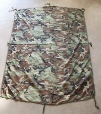 US Army Camouflage Wet Weather PONCHO LINER