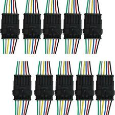 6 Pin Way Sealed Waterproof Electrical Wire Connector Plug Car Truck Auto New