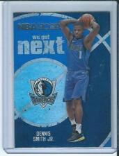 2017-18 Panini NBA Hoops We Got Next Dennis Smith Jr Dallas Mavericks RC