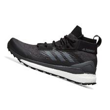 ADIDAS MENS Shoes Terrex Free Hiker - Core Black, Grey & Orange - D97203
