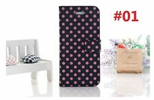 New Cute Case Cover for Apple iPhone 5 5G 5TH Stand PU Leather