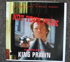 "KING PRAWN : Not Your Punk! 7"" Vinyl Single"
