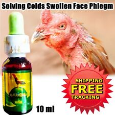 Super Green Prevention Solving Colds Swollen Face Phlegm Loud Throat Birds10 cc