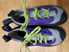 New Women's Evolv Nikita Trax Rock Climbing Shoes Size Sz 8