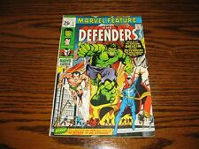 Marvel Feature #1 - 1st Appearance Defenders! Glossy Vg+ 1971