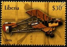 RFC Royal Flying Corps de Havilland/AIRCO DH.2 WWI Biplane Pusher Aircraft Stamp