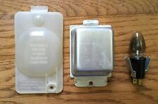 Whirlpool Maytag Duet Dryer Replacement Drum Light Socket Lens Bracket Assembly
