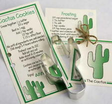 2 CACTUS  tin cookie cutters ~ MADE IN THE USA  SALE!